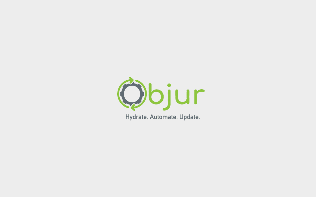 Objur Logo and Landing Page Design